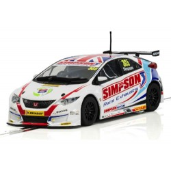 BTCC Honda Civic Type R British Championship 2017