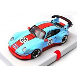 Porsche 911 GT2 Special Gulf Edition Pearl Blue