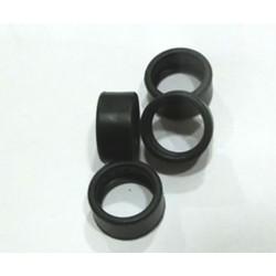 Neumaticos slick perfil bajo 18 x 10mm