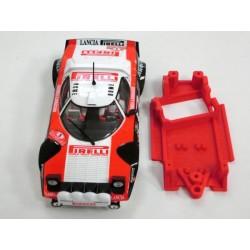 Chasis Lancia Stratos Block AW Evo compatible Ninco