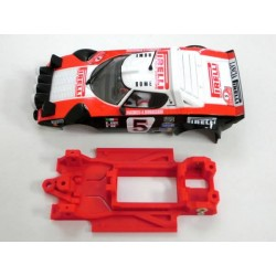 Chasis Lancia Stratos Block lineal EVO compatible Ninco