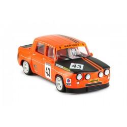 Renault 8 Gordini Orange escala 1/24