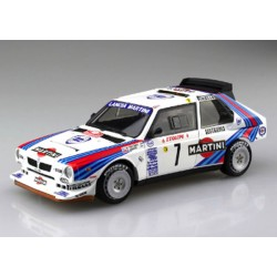 Lancia Delta S4 Martini Racing Team rally Montecarlo 1986 Kit 1/24