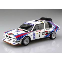 Lancia Delta S4 Martini Racing Team rally Montecarlo 1986 Kit 1/24
