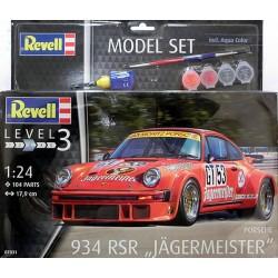 Porsche 934 RSR Jagermeister kit 1/24 para montar