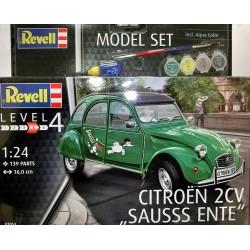 Citroen 2CV Sausss Ente kit 1/24 para montar