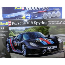 Porsche 918 Spyder Martini Racing kit 1/24 para montar