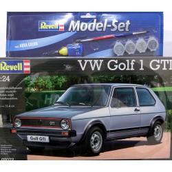 Wolkswagen Golf 1 GTI kit 1/24 para montar