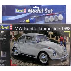 VW Beetle Limousine 1968 kit 1/24 para montar