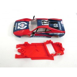 Chasis Block AW simple F-GTO compatible Scalextric