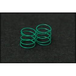 Muelles suspension verdes blandos 4 unidades
