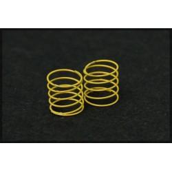 Muelles suspension amarillos blandos 4 unidades