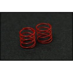 Muelles suspension rojos medios 4 unidades
