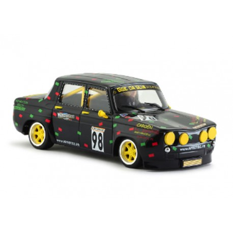 Renault 8 Gordini Blacj French