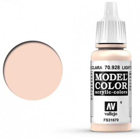 Pintura acrilica carne clara Model Color 70928