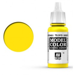 Pintura acrilica amarillo intenso Model Color 70915