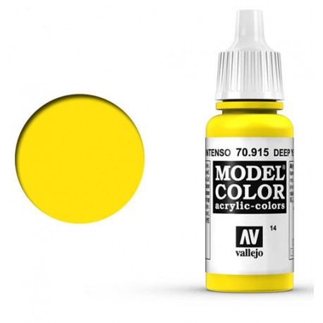 Pintura acrilica amarillo claro Model Color 70949