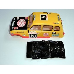 Lexan rally Renault 4 compatible Scalextric M-L0032R