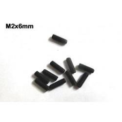 Esparragos tornillos - prisioneros M2 x 5mm M-TE25