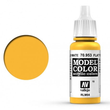 Pintura acrilica amarillo mate Model Color 70953