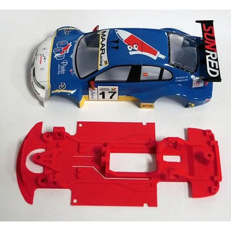 Chasis Toledo GT Block lineal compatible Scalextric M-CB0034LV