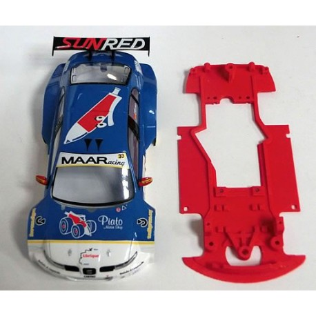 Chasis Toledo GT Block AW compatible Scalextric M-CB0034V