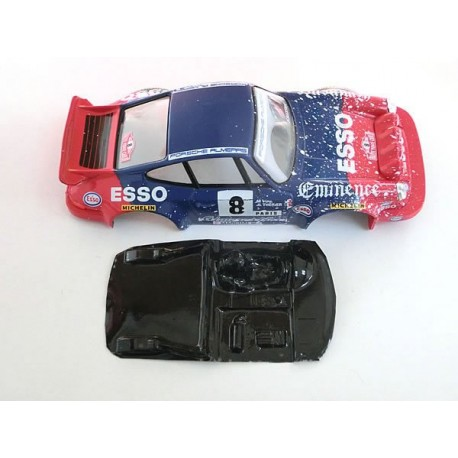 Lexan rally 911 compatible Scalextric M-L0027R