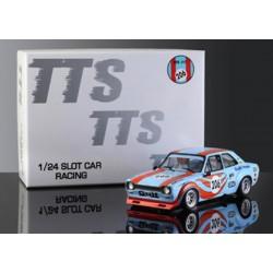 Ford Escord Mk1Gulf Team 1/24 chasis de aluminio BRM-TTS017
