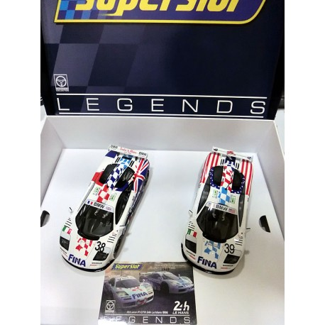 McLaren F1 GTR Fina Twin Pack Le Mans 1996 Limited Edition H4012A
