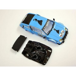 Soporte tornillos traseros + lexan rally Alpine A310 compatible Avant M-ACLR23