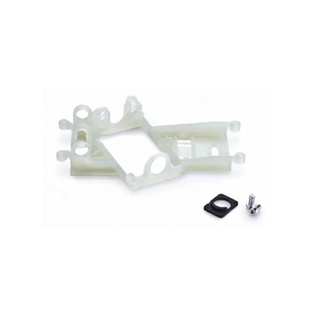 Soporte motor anglewinder offsett 1mm Evo6 para rodamientos a bolas CH119
