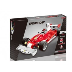 F1 Clasic Red Racer kit construccion