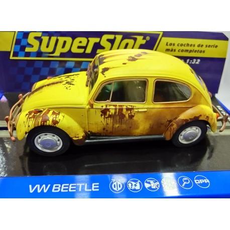 Volkswagen Beetle rusty yellow H4045