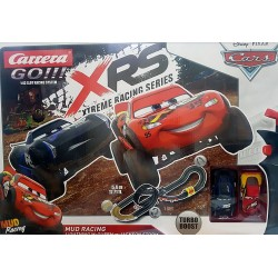 Circuito XRS Mud Racing Turbo Boost Cars Disney Pixar 1/43