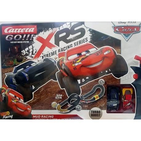 Circuito XRS Mud Racing Turbo Boost Cars Disney Pixar 1/43
