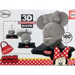 Mini Mouse puzzle 3D 160 piezas