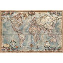 El mundo, mapa politico puzzle 4000 piezas