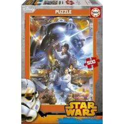 Star Wars puzzle 500 piezas Educa