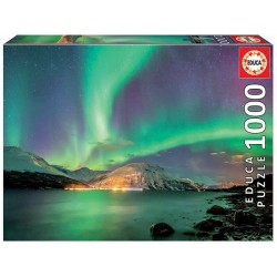 Aurora boreal puzzle 1000 piezas