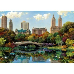 Central Park Bow Bridge puzzle 8000 piezas Educa