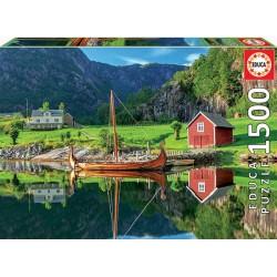 Barco Vikingo puzzle 1500 piezas Educa