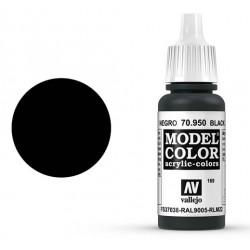 Pintura acrilica negro Model Color 70950
