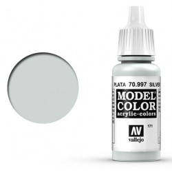 Pintura acrilica plata Model Color 70997