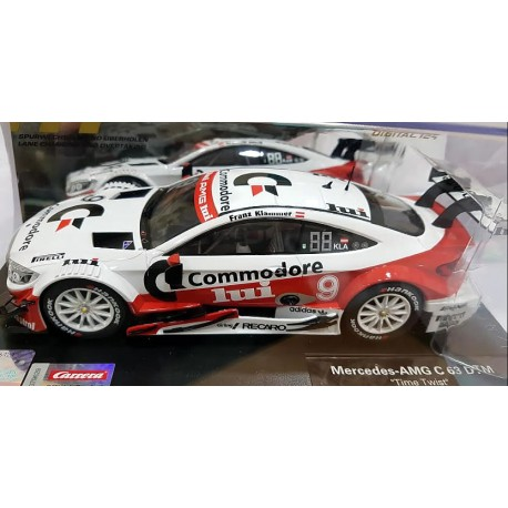 Mercedes AMG C63 DTM Time Twist Limitad Edition escala 1/24 23887