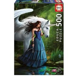 Estanque encantado puzzle 500 piezas Educa