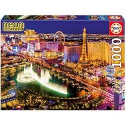 Las Vegas Neon Puzzle 1000 piezas Educa