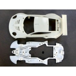 Chasis Porsche 911/991 compatible Scaleauto (para soporte motor Slot.it)