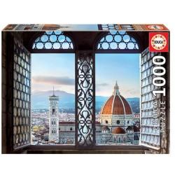 Vistas de Florencia puzzle 1000 piezas Educa