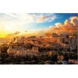Acropolis de Atenas puzzle 1000 piezas Educa