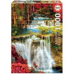Catarata en el bosque puzzle 1000 piezas Educa